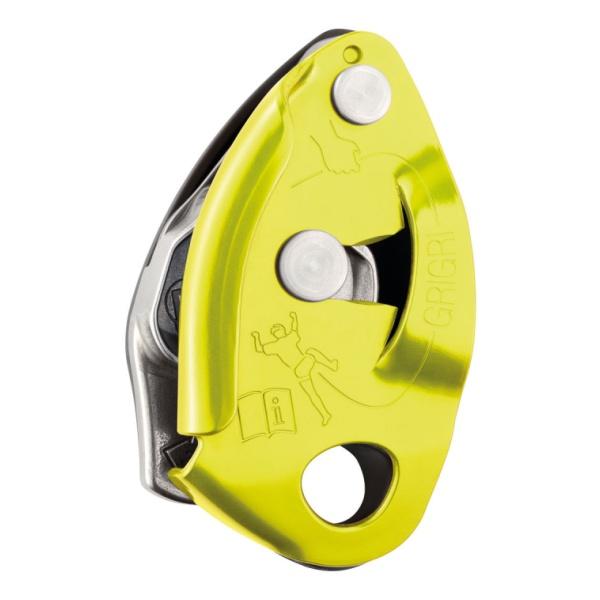 Страховочное устройство Petzl GRIGRI желтый