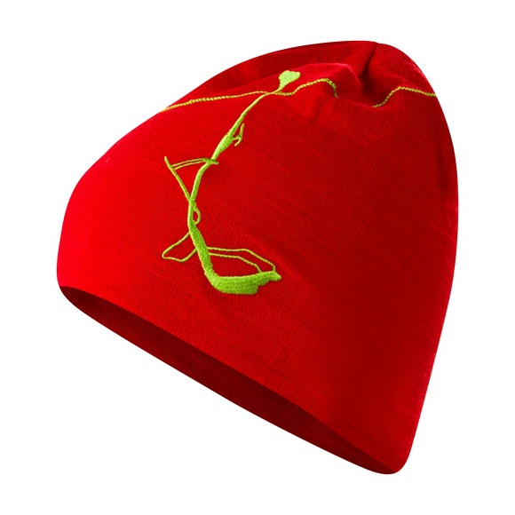 Шапка Bergans Bergans Skilift красный шапки bergans шапка