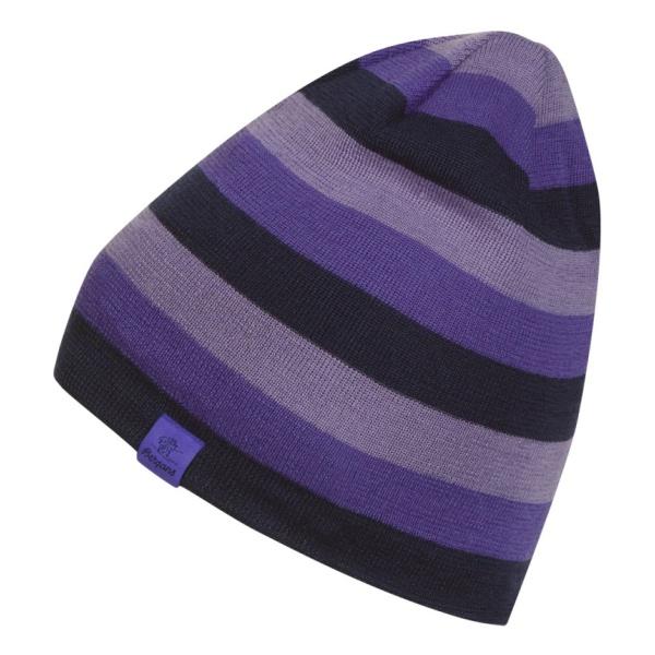 Шапка Bergans Bergans The Beanie фиолетовый ONE цена и фото