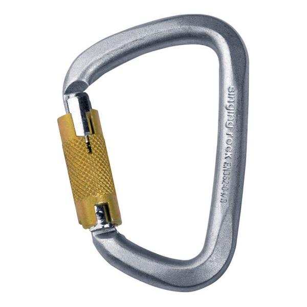 Купить Карабин Singing Rock Steel Triple Lock