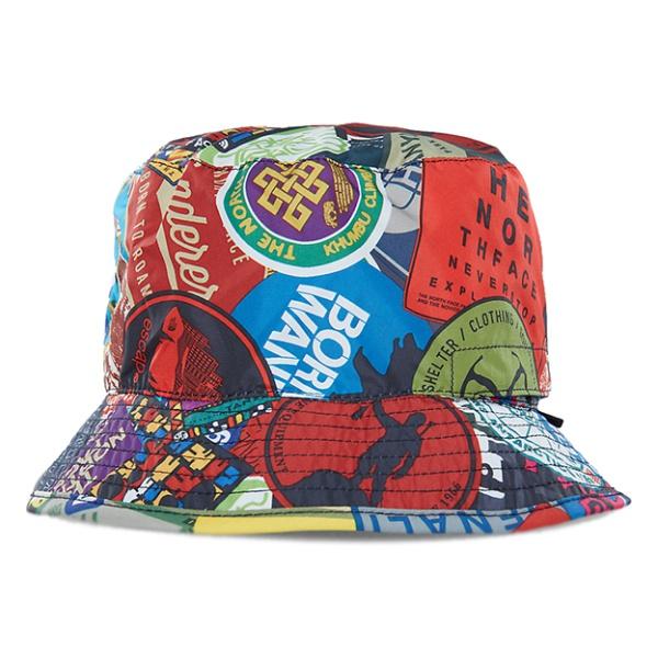 Панама The North Face Sun Stash Hat разноцветный SM