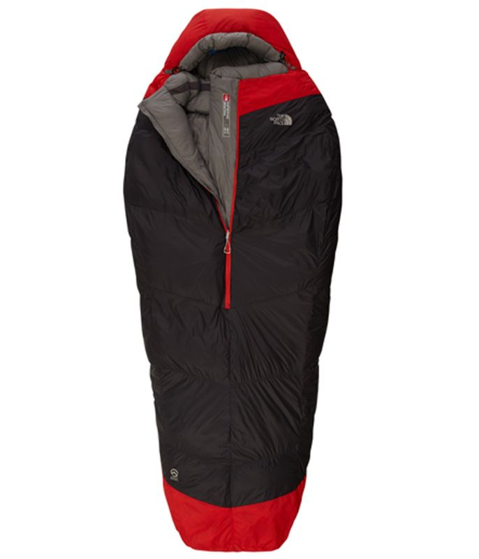 Спальник The North Face The North Face Inferno -40F/-40C темно-серый LNG