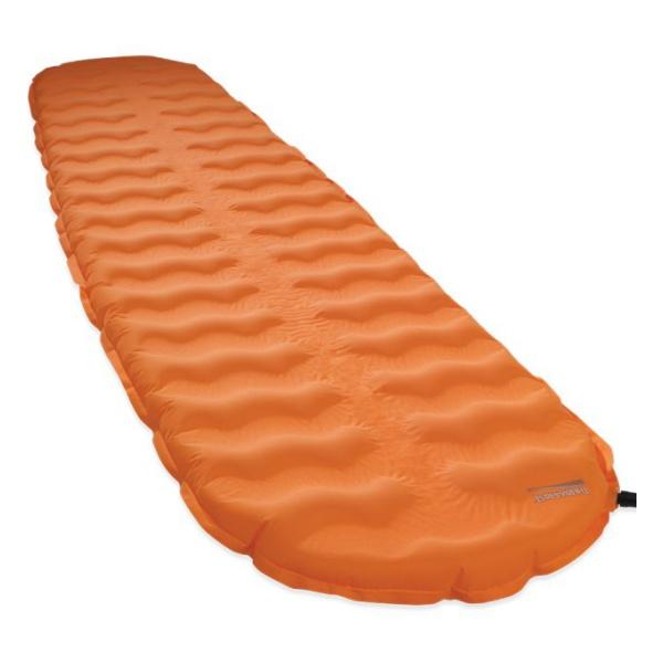 Коврик самонадувающийся Therm-A-Rest Therm-A-Rest Evolite темно-оранжевый LARGE коврик самонадувающийся kingcamp base camp comfort km3560 синий 196 х 63 х 5 см