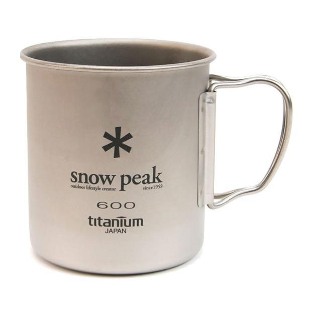 Кружка Snow Peak титановая Ti-Single 600 0.6л