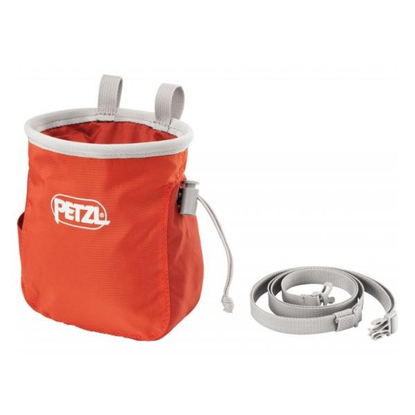 Мешок для магнезии Petzl Petzl Saka темно-розовый мешок для магнезии petzl petzl saka оранжевый