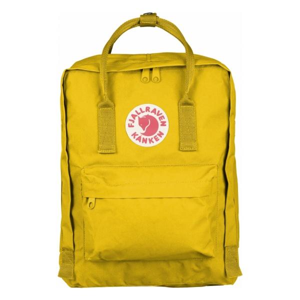 цена  Рюкзак FjallRaven FjallRaven Kanken желтый  онлайн в 2017 году