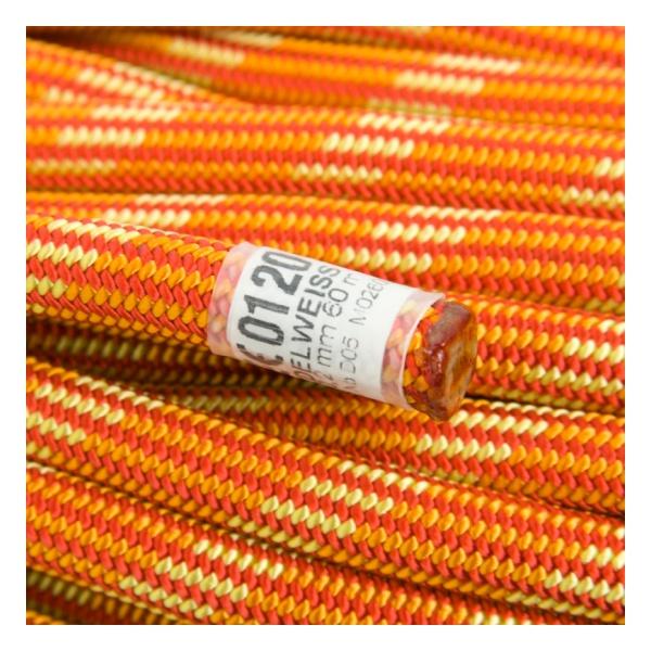 Веревка динамическая Edelweiss Edelweiss Element II 10,2 мм (бухта 60 м) красный 60