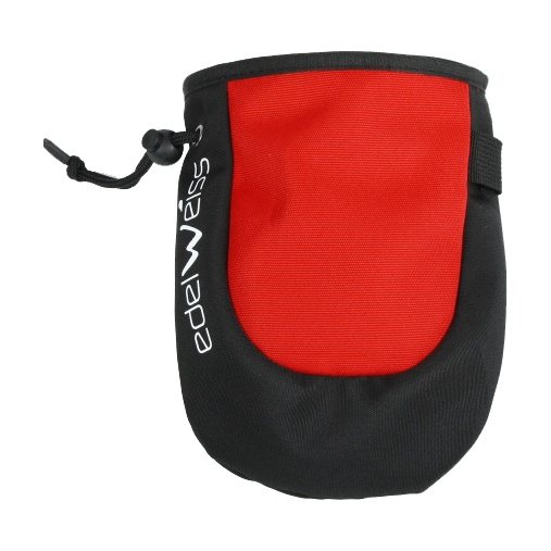 цена  Мешочек для магнезии Edelweiss Edelweiss Chalk Bag черный  онлайн в 2017 году