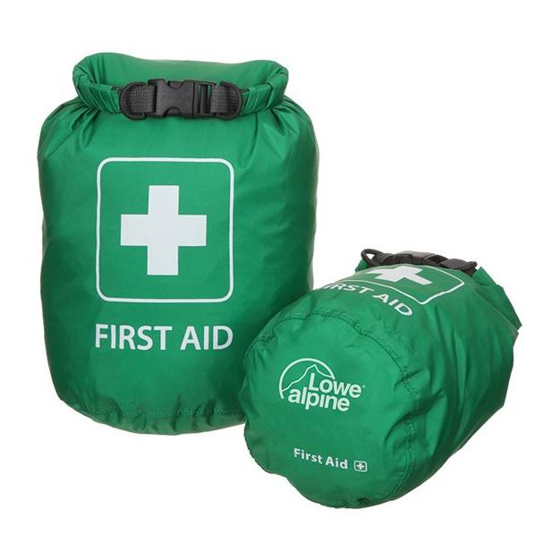 Гермомешок для аптечки Lowe Alpine First Aid Drybag зеленый S(1.5л)