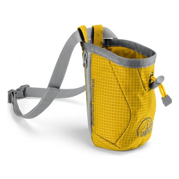 Мешок для магнезии Lowe Alpine Zipper Dipper желтый