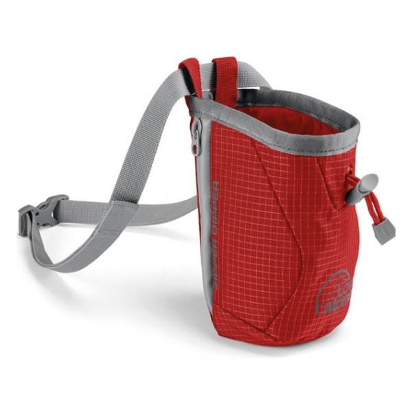 Мешок для магнезии Lowe Alpine Lowe Alpine Zipper Dipper красный баул lowe alpine lowe alpine at kit bag 90l голубой 90л