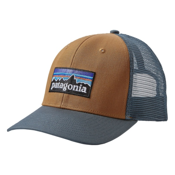 Кепка Patagonia P6 Trucker Hat коричневый ALL