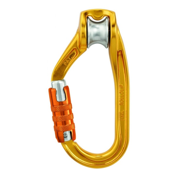 Карабин с роликом Petzl Petzl Rollclip Triact-Lock карабин с роликом petzl petzl rollclip z triact lock