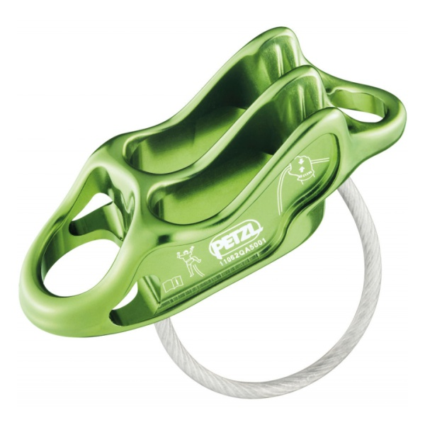Спусковое устройство Petzl Petzl Reverso 4 зеленый расчет страховки осаго полис го днепропетровска