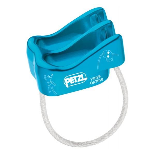 Страховочное устройство устройство Petzl Petzl Verso синий спусковое устройство petzl huit