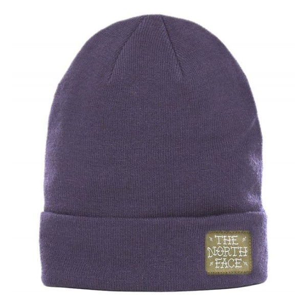 Шапка The North Face The North Face Dock Worker Beanie фиолетовый OS