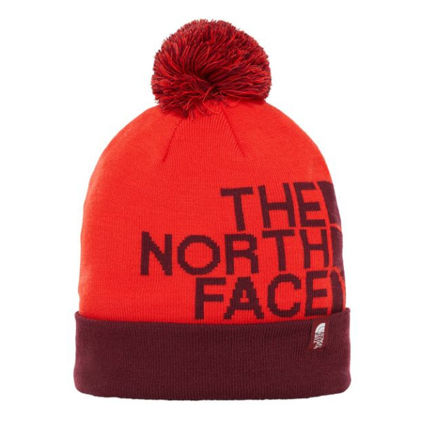 Шапка The North Face The North Face Ski Tuke V красный ONE шапка the north face the north face ski tuke v черный l