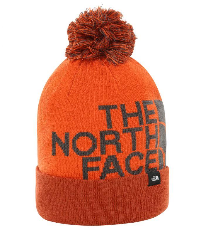 Шапка The North Face Ski Tuke V темно-оранжевый ONE
