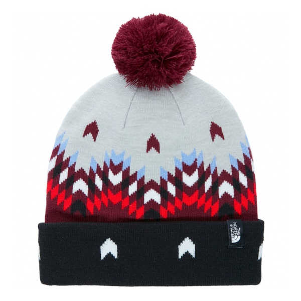 Шапка The North Face The North Face Ski Tuke V темно-красный L the north face ski tuke iv os t0a6w6
