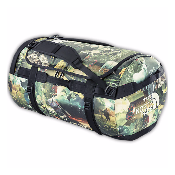 Баул The North Face Base Camp Duffel L хаки 95л