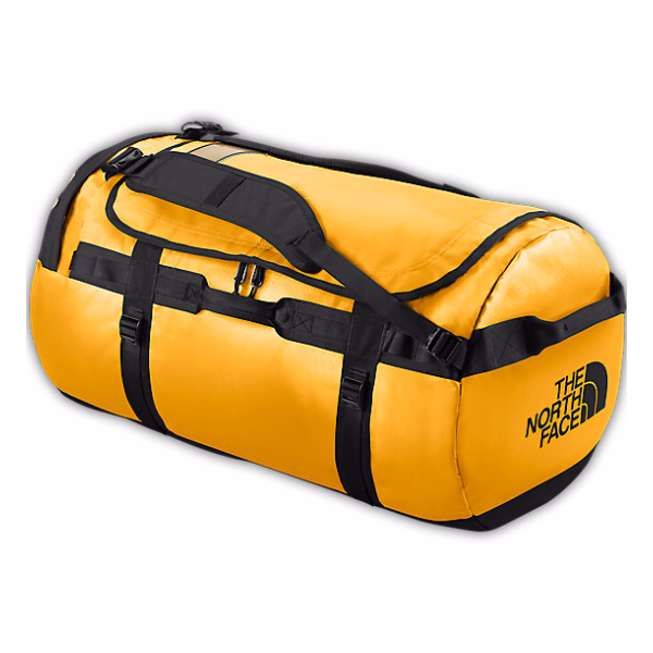 Баул The North Face The North Face Base Camp Duffel L желтый 95л  the north face the north face base camp duffel l оранжевый 95л