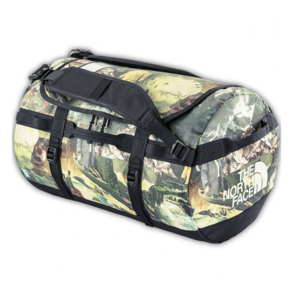 Баул The North Face Bace Camp Duffel S хаки 50л