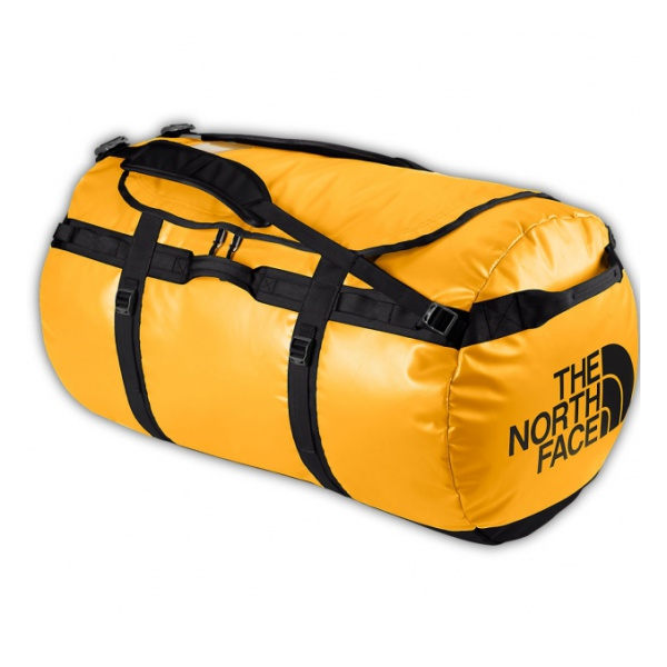 Баул The North Face Bace Camp Duffel S желтый 50л