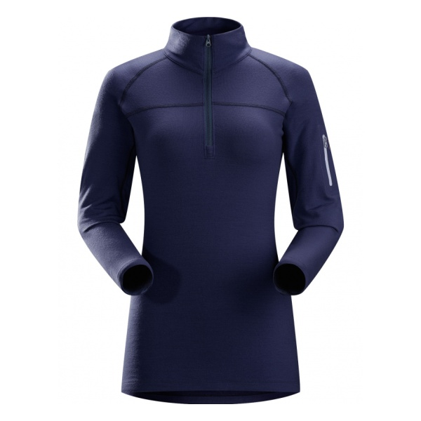 Футболка Arcteryx Rho LTW Zip Neck женская