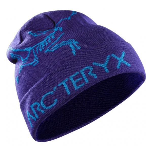 Шапка Arcteryx Rolling Word фиолетовый