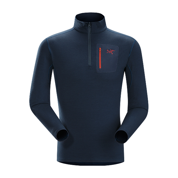 Футболка Arcteryx Rho LTW Zip Neck