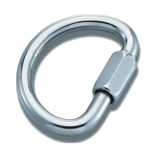 Карабин-Рапид Vento Венто «Big-D 10» стальной полукруглый 10 мм