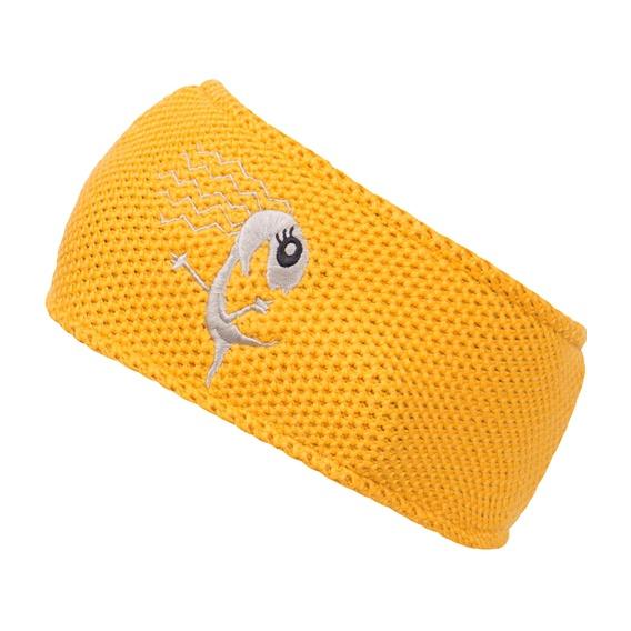 Повязка Bergans Cecilie Headbanb желтый ONE