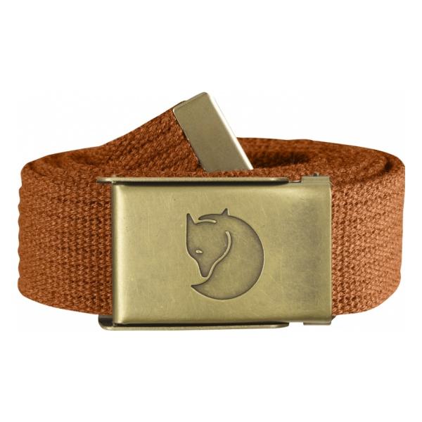 Ремень FjallRaven Canvas Brass Belt 3 см светло-коричневый ONE