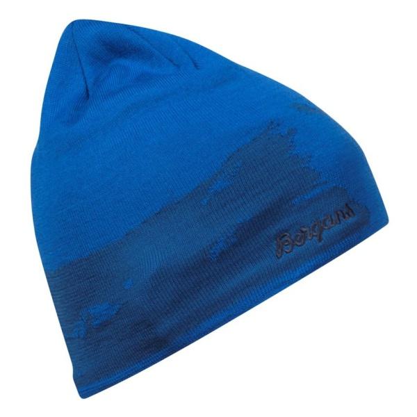 Шапка Bergans Bergans Ski синий 58 шапка bergans bergans ski beanie синий 58