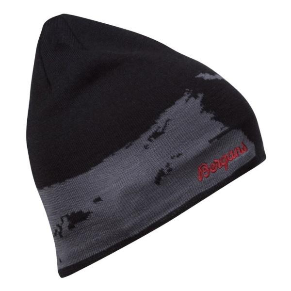 Шапка Bergans Bergans Ski черный 58 шапка bergans bergans rib beanie черный one