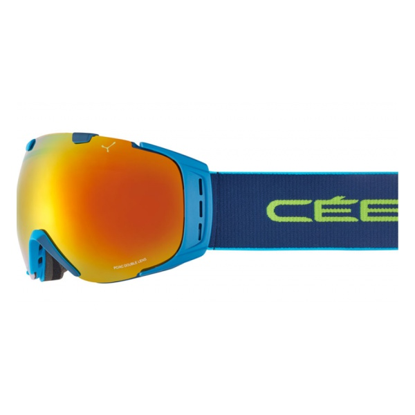 Горнолыжная маска Cebe Cebe Origins L голубой L цена