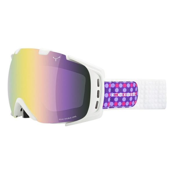 Горнолыжная маска Cebe Origins M светло-фиолетовый M