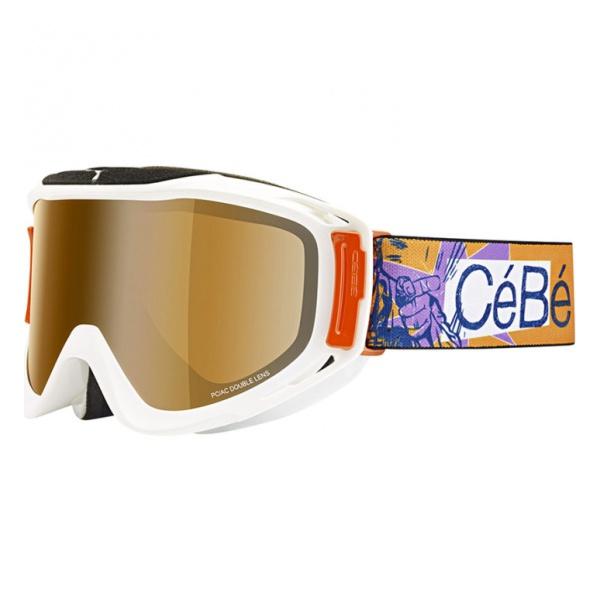 Горнолыжная маска Cebe Legend L оранжевый L