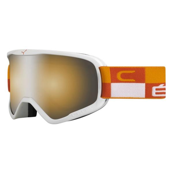 Горнолыжная маска Cebe Striker L оранжевый L