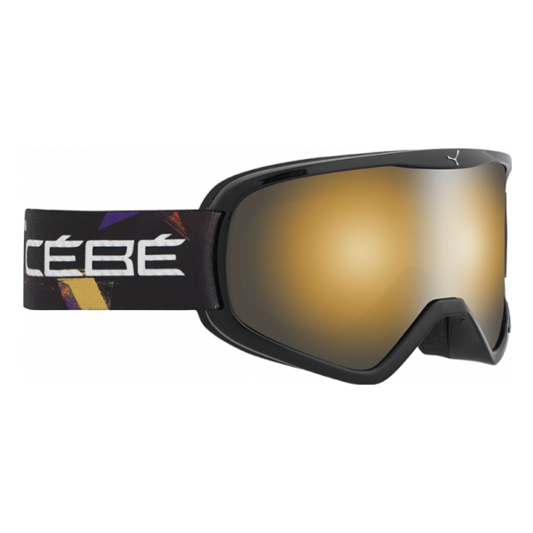 цена на Горнолыжная маска Cebe Cebe Striker L черный L