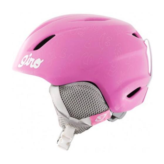 Горнолыжный шлем Giro Launch детский розовый XS/S(48.5/52CM)