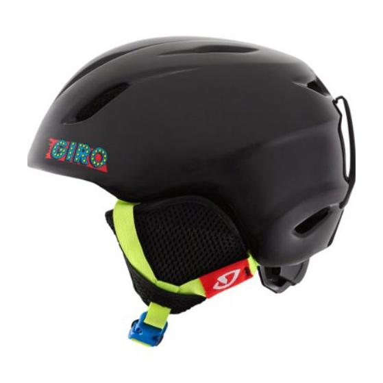 Горнолыжный шлем Giro Launch детский черный M/L(52/55.5CM)