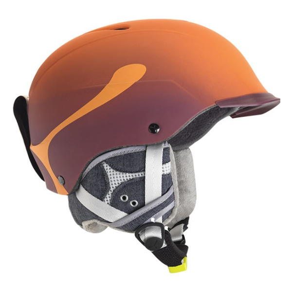 Горнолыжный шлем Cebe Cebe Contest Visor PRO оранжевый 62/64 горнолыжный шлем cebe atmosphere deluxe синий 52 55