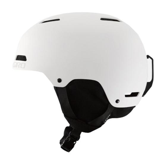 Горнолыжный шлем Giro Giro Ledge белый S(52/55.5CM) горнолыжный шлем giro giro ledge красный m 55 5 59cm