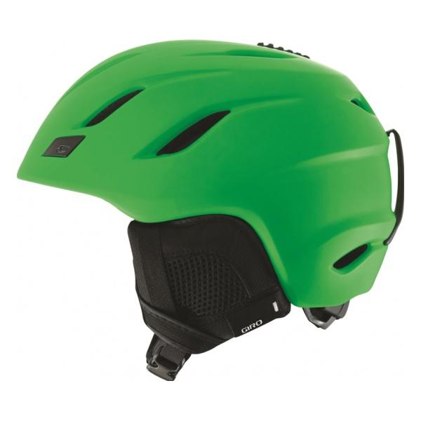 Горнолыжный шлем Giro Giro Nine зеленый L(59/62.5CM) шлем giro xar hi yel