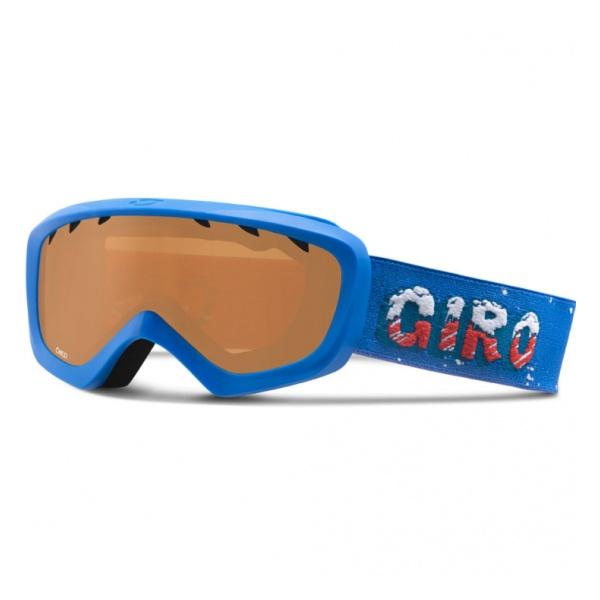 Горнолыжная маска Giro Giro Chico детская темно-голубой anon маска сноубордическая anon helix 2 0 non mir yellow amber fw18 one size