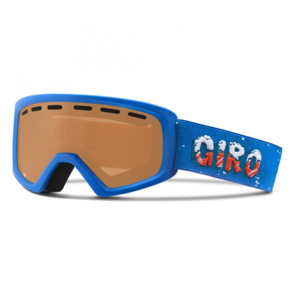 Горнолыжная маска Giro Giro Rev детская темно-голубой маска горнолыжная детская uvex slider kid s goggles цвет голубой