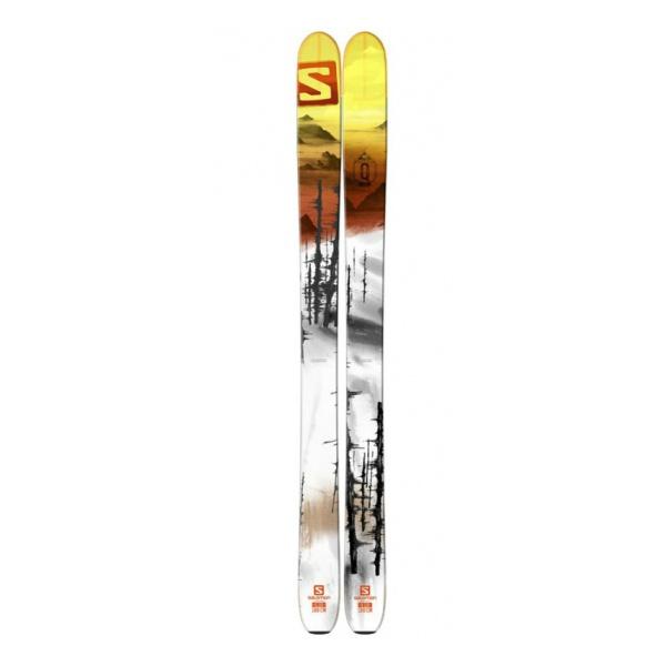 Горные лыжи Salomon Q-115 белый (15/16)