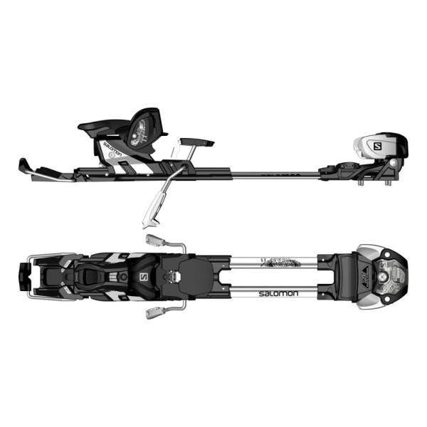 Горнолыжные крепления Salomon Guardian MNC 13 S белый 100