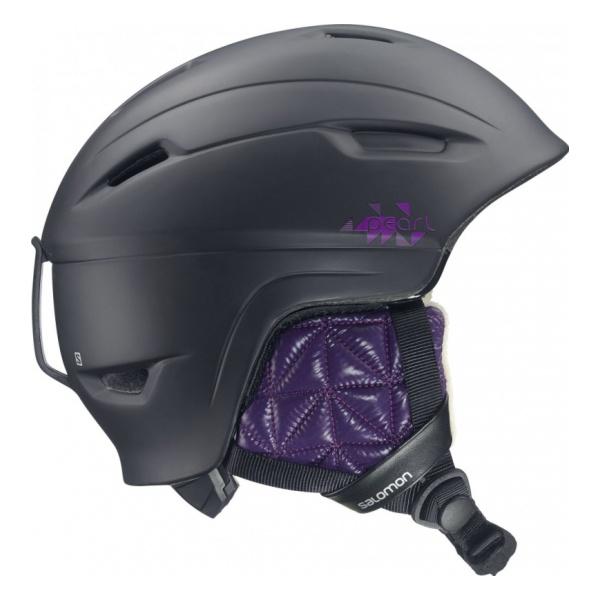 Горнолыжный шлем Salomon Pearl 4D черный S(53/56)